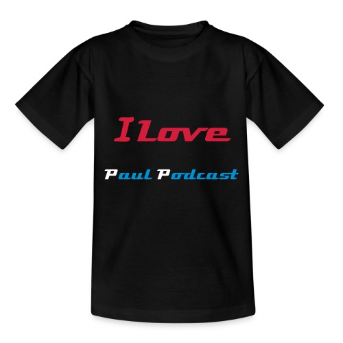 T-Shirt I Love Paul Podcast Ado  - T-shirt Ado
