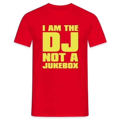 DJ Jukebox - Männer T-Shirt
