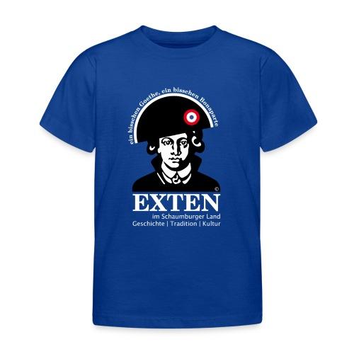 *SONDEREDITION* Exten Shirt-Goethe Kid classic front - Kinder T-Shirt