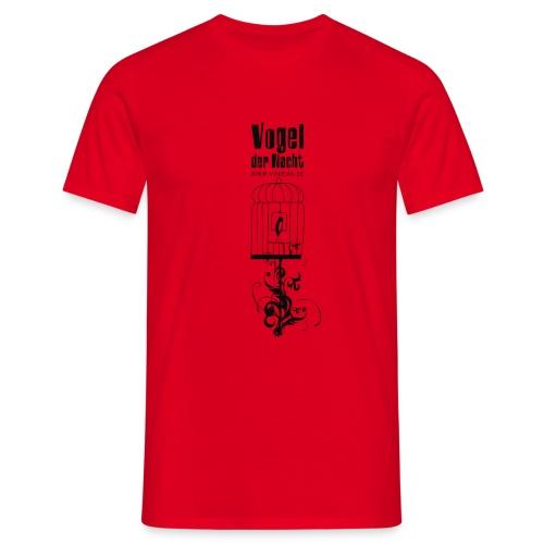 Vogel der Nacht Herren-Shirt Käfig - Männer T-Shirt