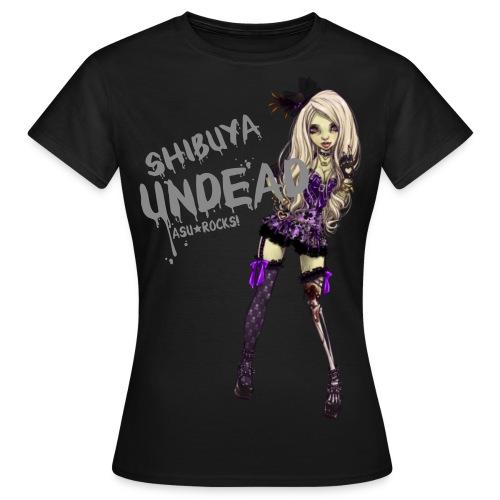 SHIBUYA UNDEAD dark classic - Frauen T-Shirt
