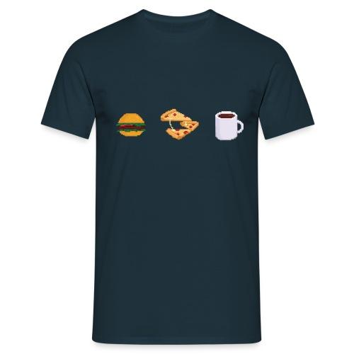 Pixel Food T-shirt - T-shirt Homme