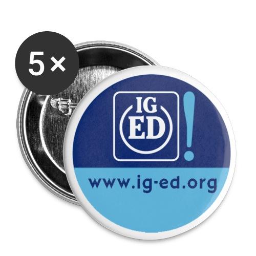 IG-ED Buttons klein - Buttons mittel 32 mm