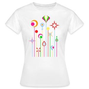 Pop Flowers #2 - T-shirt Femme