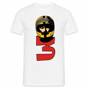 Joey Dunlop No 3 - Men's T-Shirt