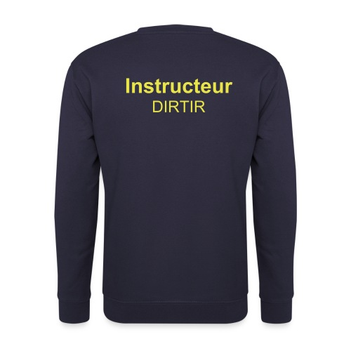 sweat instructeur dirtir - Sweat-shirt Homme