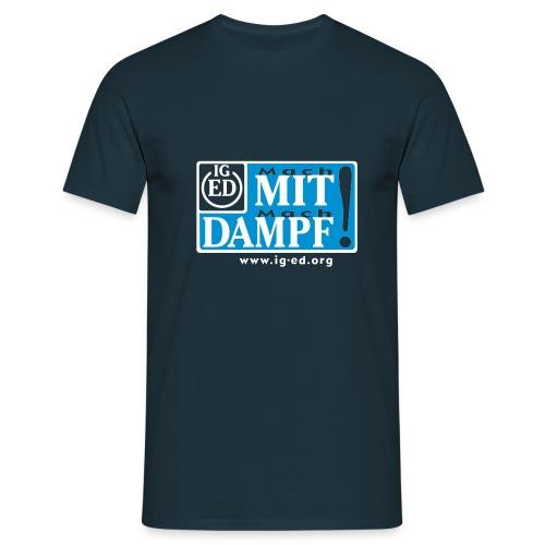 IG-ED Shirt Slogan - Männer T-Shirt