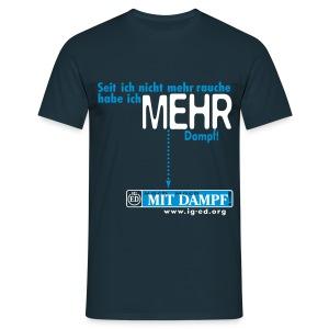 IG-ED Shirt MEHR - Männer T-Shirt