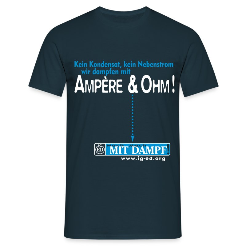 IG-ED Shirt AMPÈRE - Männer T-Shirt