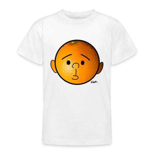 Orange Head - Teenage T-Shirt