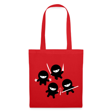Red Ninja Circle Bags