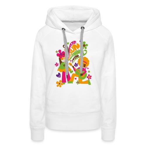 Let the sunshine in - Capuche F - Sweat-shirt à capuche Premium pour femmes
