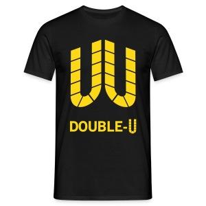 Double-U - Männer T-Shirt