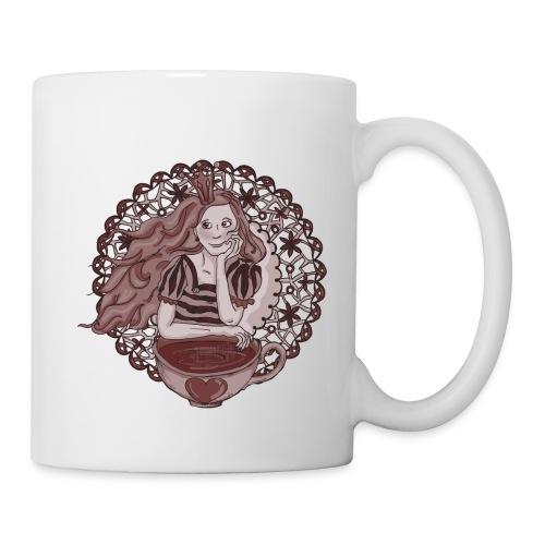 Tee-Prinzessin auf Tasse - Tasse