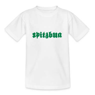 """Spitzbua""   Oktoberfest T-Shirts bedrucken Kinder T-Shirts"