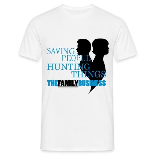 Supernatural Familiybusiness - Männer T-Shirt