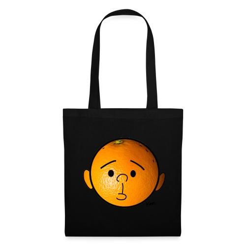 Orange Head Tote Bag - Tote Bag