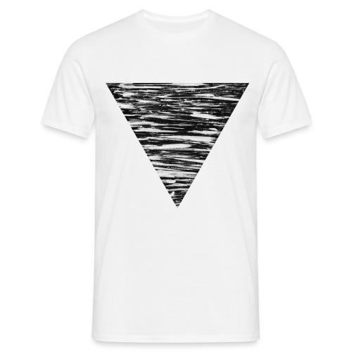 Dreieck Shirt - Männer T-Shirt
