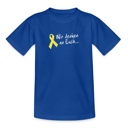 Teenager Gelbe Schleife - Teenager T-Shirt