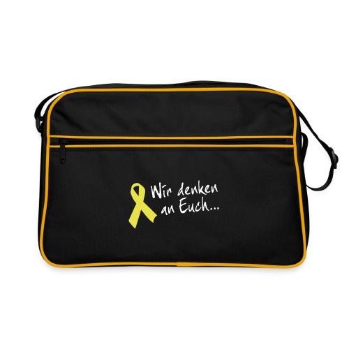 Retrotasche Gelbe Schleife - Retro Tasche