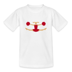Cheerleader (2c)++ Kinder shirts - Kinderen T-shirt