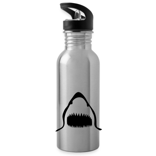 Sharks Bottle - Silver - Water Bottle