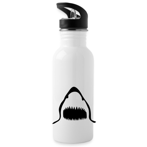 Sharks Bottle - White - Water Bottle