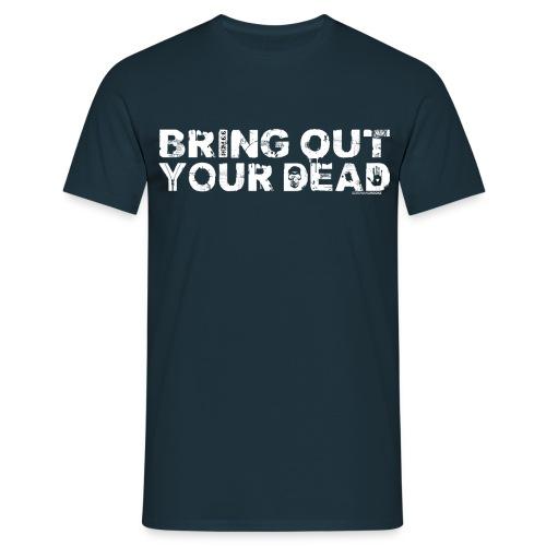 Men's Bring Out Your Dead T-Shirt - Navy - Men's T-Shirt
