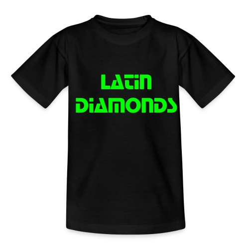 kinder t-shirt 'latin diamonds' - Kinderen T-shirt