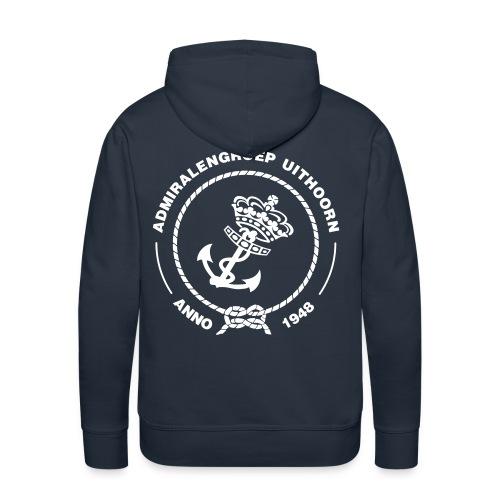 Trui met capuchon Heren - Mannen Premium hoodie