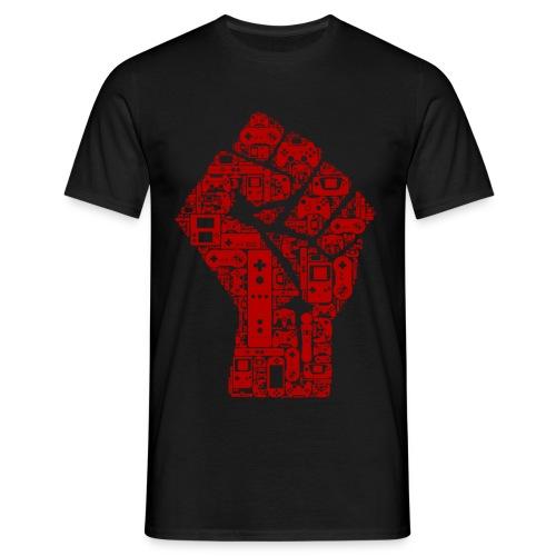Gamer fist revolution - T-shirt Homme