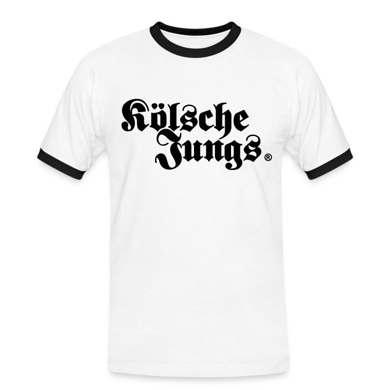 Kölsche Jungs Classic - Männer Kontrast-T-Shirt