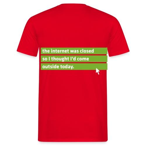 Internet Nerd Shirt - Men's T-Shirt