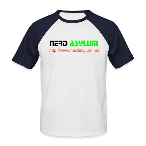 Nerd Asylum Baseball T-Shirt - Men's Baseball T-Shirt