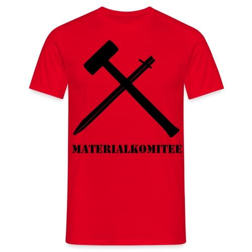 MATERIALKOMITEE - Männer T-Shirt