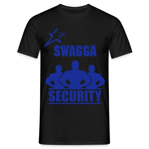 Swagga Security Bleu - T-shirt Homme