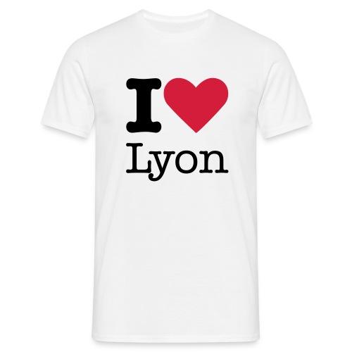 i love Lyon - T-shirt Homme