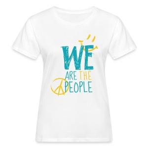 Peace Smiley bright - Women Organic - Frauen Bio-T-Shirt