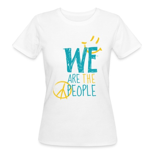 Peace Smiley bright - Women Organic - Frauen Bio-T-Shirt