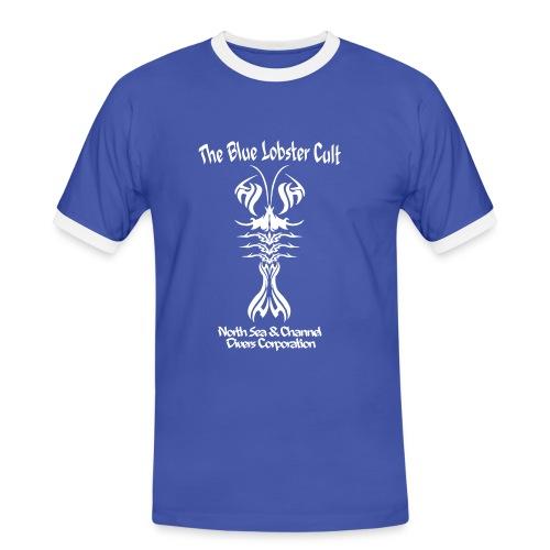Blue Loster Cult -Imp.Flex+Logo dos - T-shirt contrasté Homme