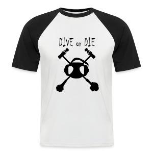 Dive or Die  - Imp.Flex+Logo dos - T-shirt baseball manches courtes Homme
