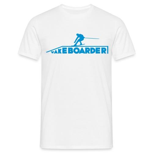 Wakeboarder Slider T-shirts - Männer T-Shirt