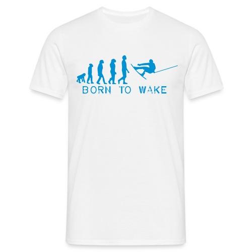 Born to Wake T-shirt/Wakeboarding - Männer T-Shirt