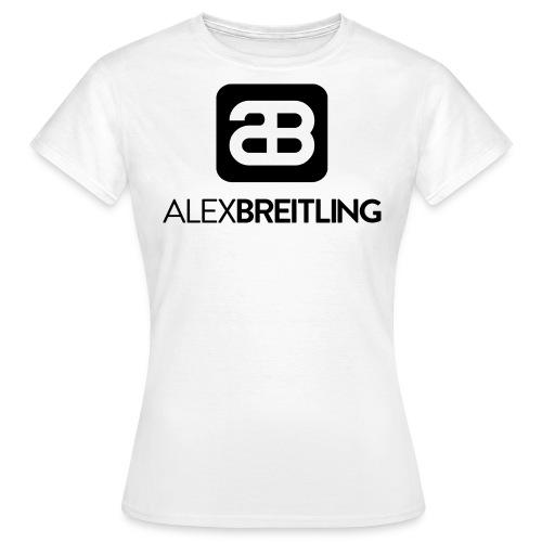 Frauen Normal (schwarzes Logo) - Frauen T-Shirt