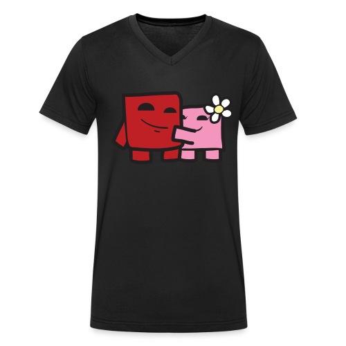 Meatboooy - Männer Bio-T-Shirt mit V-Ausschnitt von Stanley & Stella