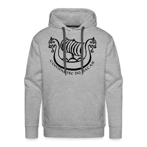 Sweat couleur Bátar - Sweat-shirt à capuche Premium pour hommes