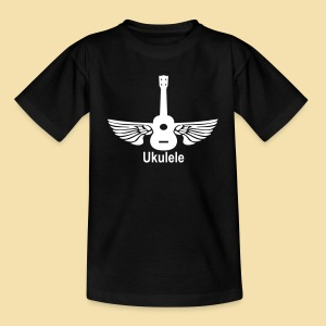 ShirtFlyingUkulele - Kinder T-Shirt