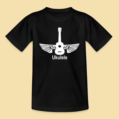 ShirtFlyingUkulele - Kinder T-Shirt