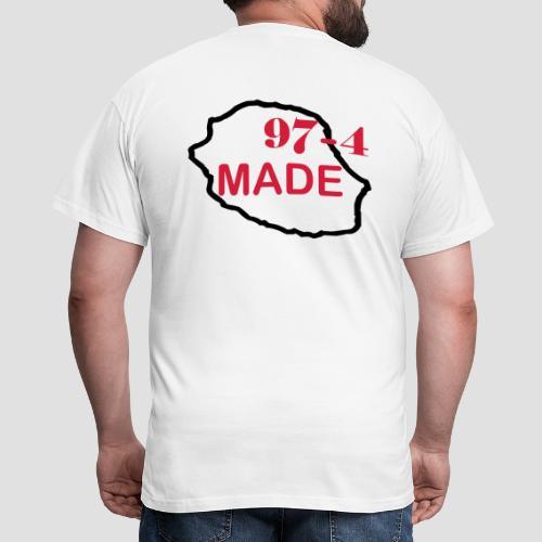 Tee shirt classique Homme Made 974 - Réunion - T-shirt Homme