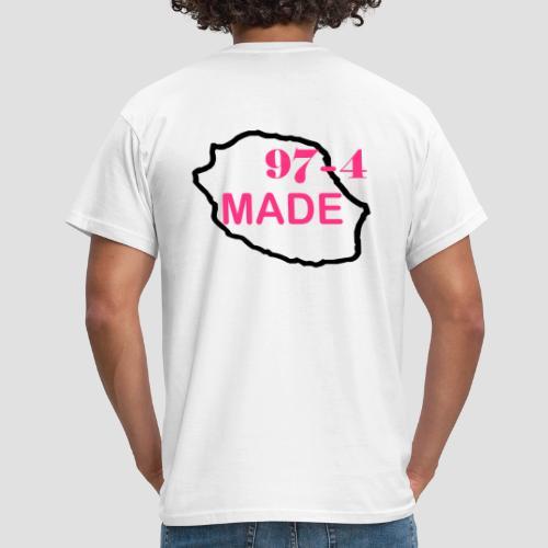 Tee shirt classique Homme Made 974 - T-shirt Homme